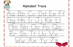 Alphabet Tracing | Kiddo Shelter – Free Printable Alphabet Letters Upper And Lower Case