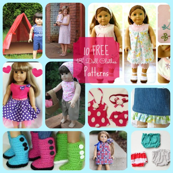 American Girl Clothes Patterns Free Printable