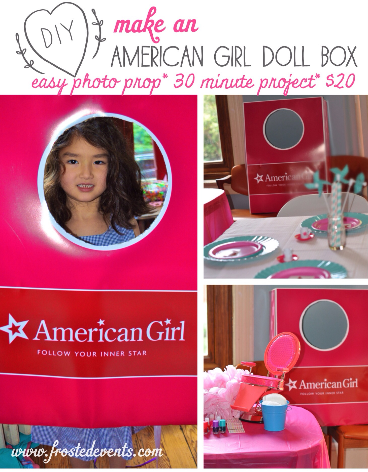 American Girl'-Themed Birthday Party Ideas | Parentmap - American Girl Party Invitations Free Printable