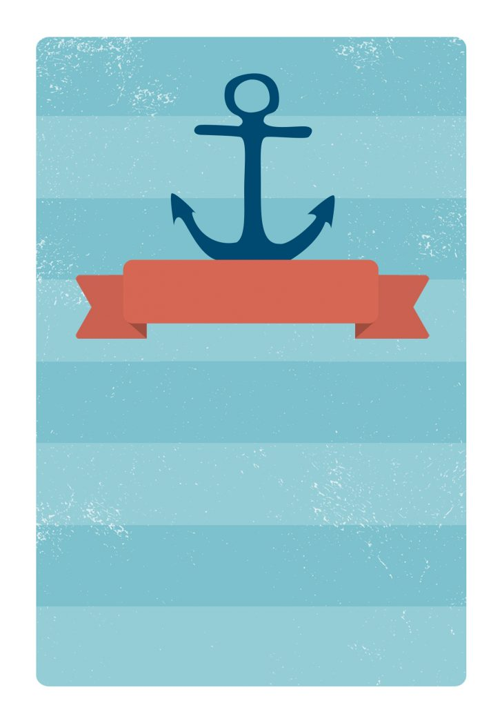 Free Printable Anchor Template