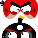 Angry Birds Free Printable Masks | Luca's B Day Party | Pinterest   Free Printable Masks