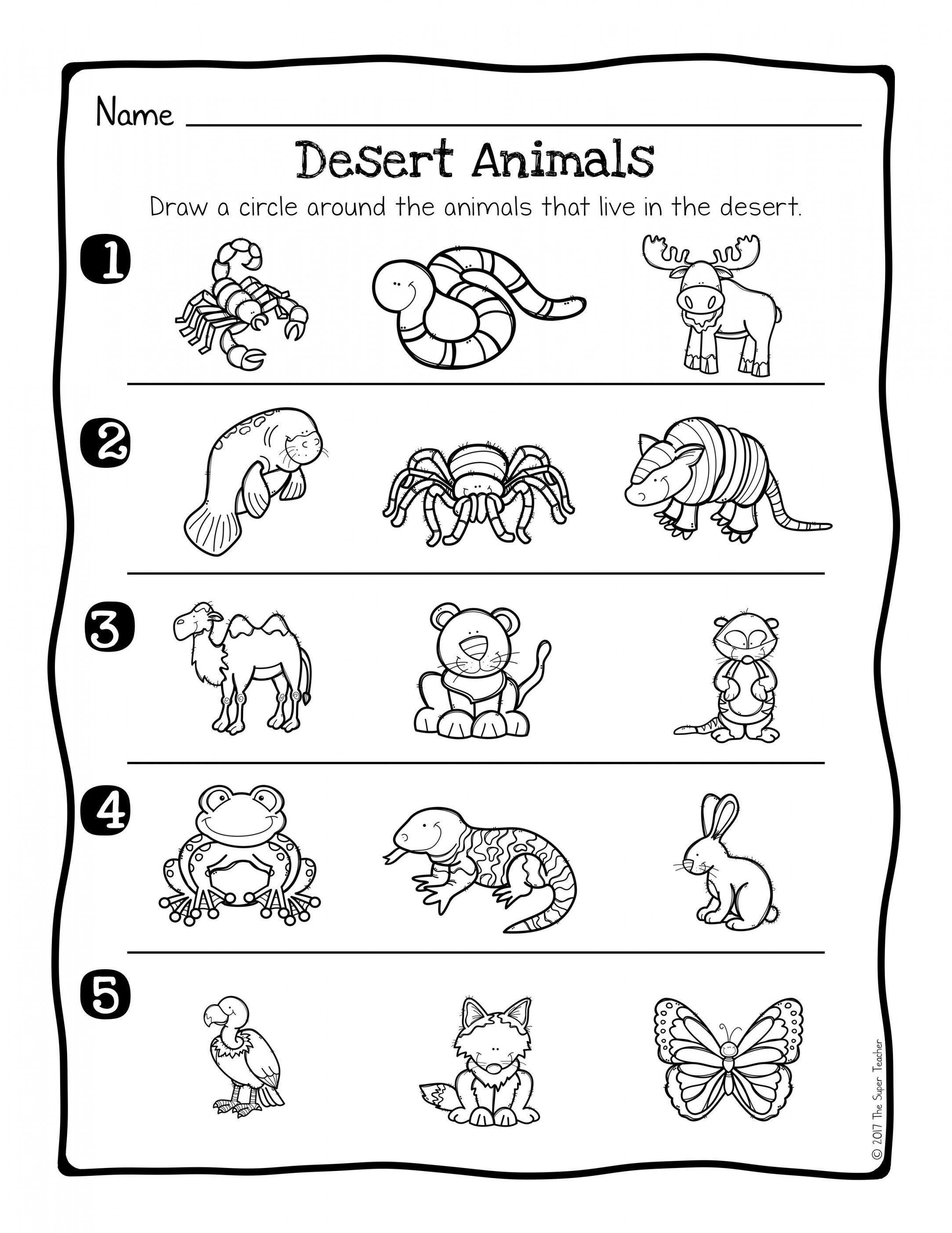 Animal Habitats Worksheets | Lostranquillos - Free Printable Worksheets Animal Habitats