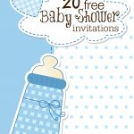 Are You Planning A Baby Shower? You'll Find This List Of Free   Free Baby Boy Shower Invitations Printable