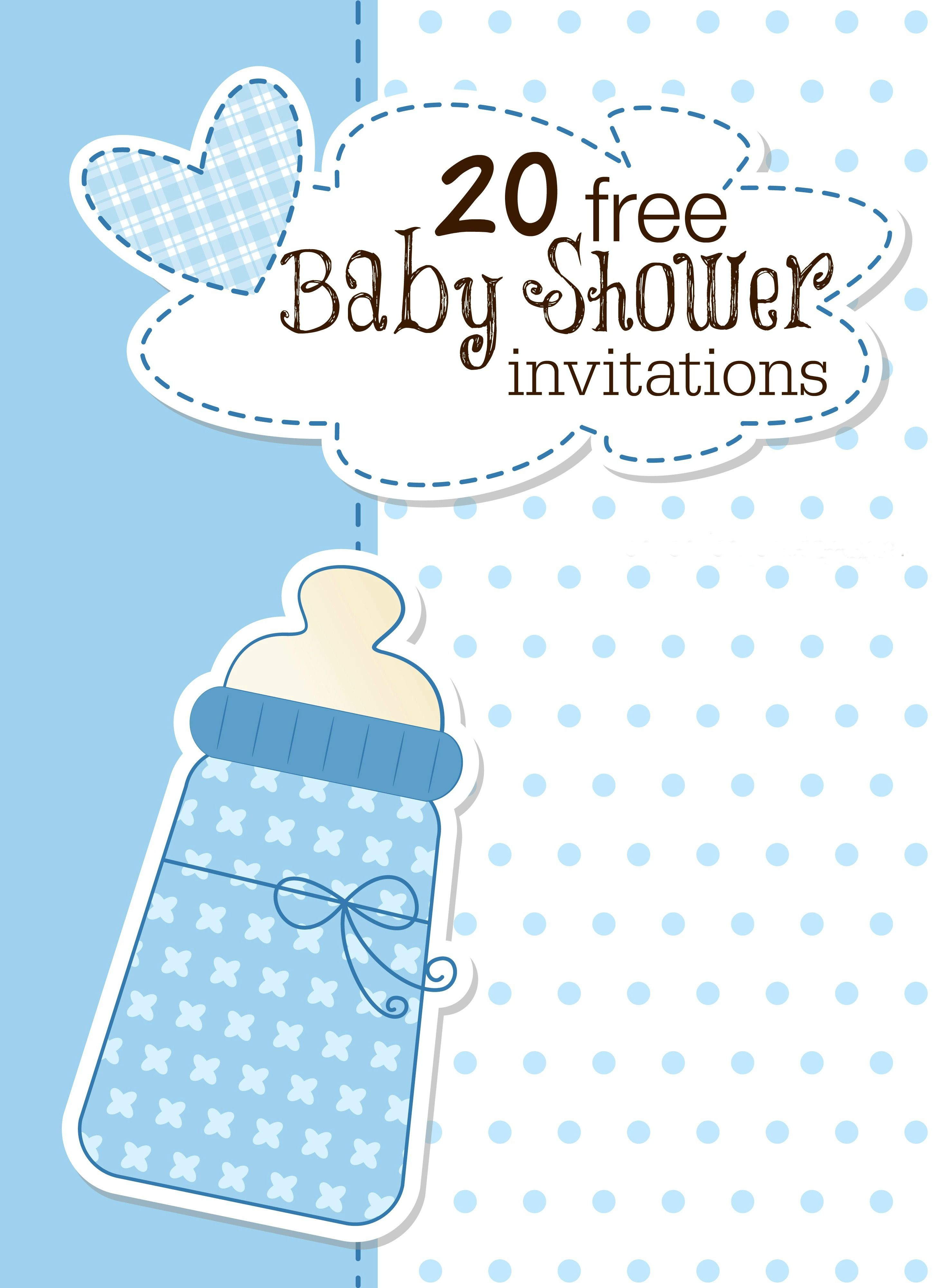 Are You Planning A Baby Shower? You'll Find This List Of Free - Free Printable Baby Shower Invitations