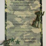 Army Birthday Party Invitations Free Printable | Kids Birthday   Free Printable Camouflage Invitations