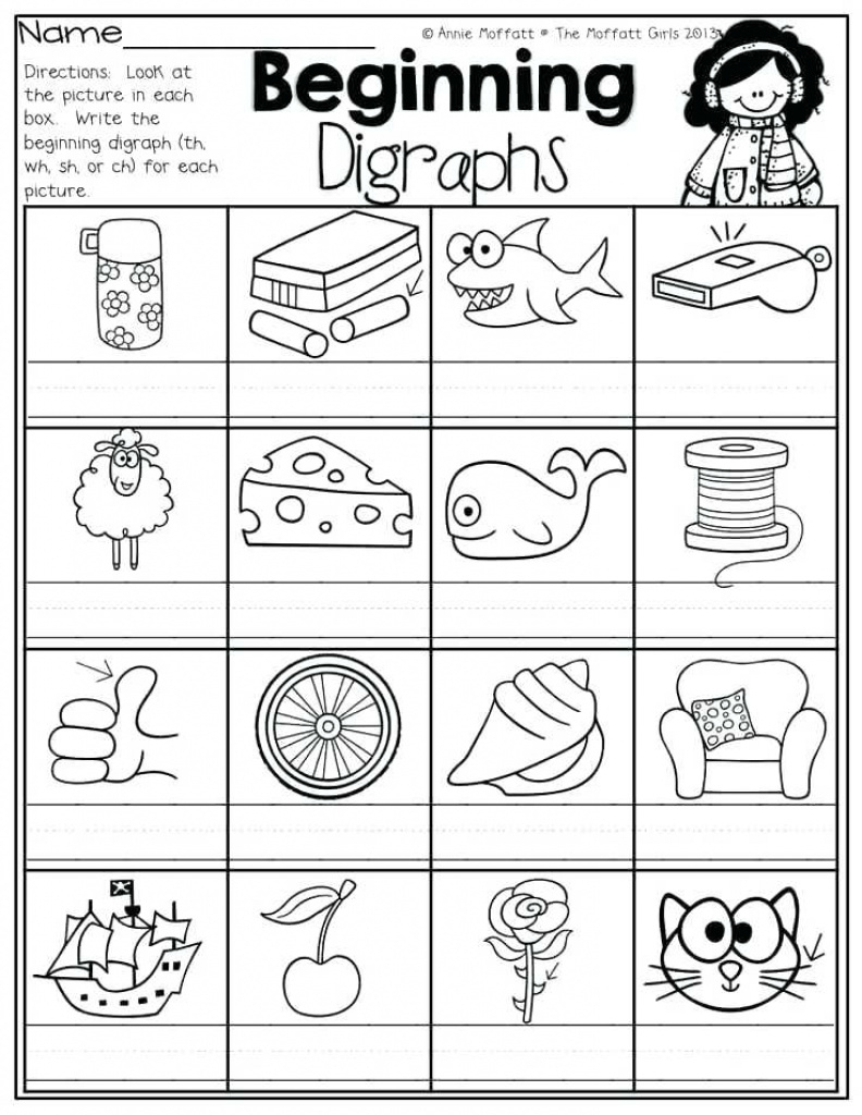 Articulation Worksheets Free Sh Ch Printable Activities For Free - Free Printable Ch Digraph Worksheets