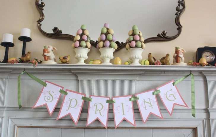 Free Printable Spring Decorations
