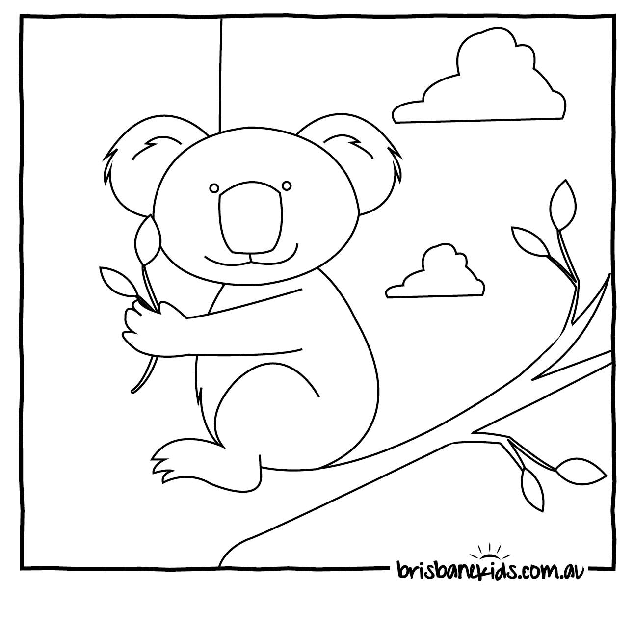 Australian Animals Colouring Pages | Brisbane Kids - Free Printable Aboriginal Colouring Pages