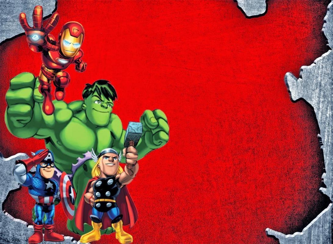 Avengers Birthday Invitations | Template In 2019 | Pinterest - Avengers Printable Invitations Free
