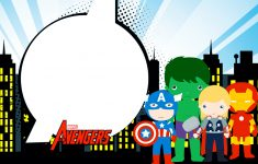 Free Printable Avengers Birthday Party Invitations