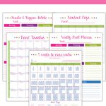 "Avoid ""hanger"" With A Fitness And Food Planner   Free Printable Fitness Planner"
