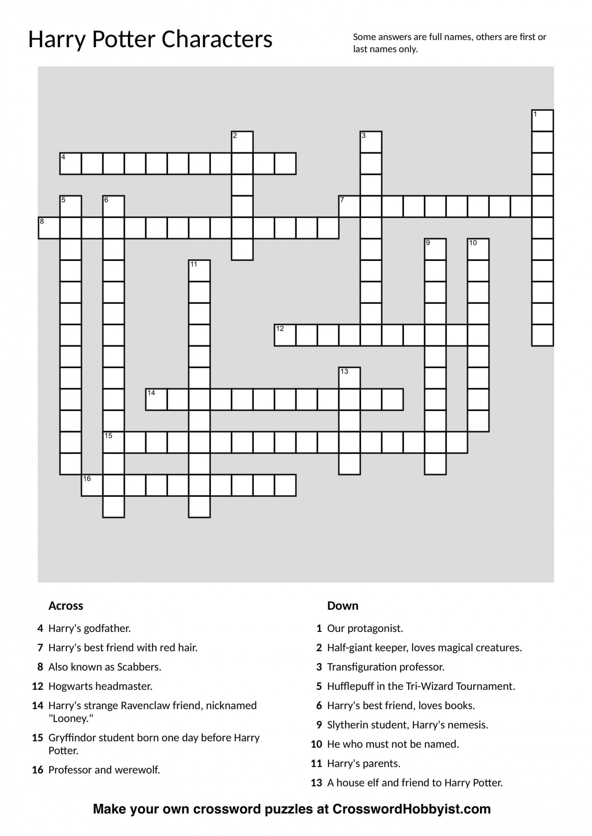 Awesome Crossword Puzzle Make Your Own ~ Themarketonholly - Make Your Own Crossword Puzzle Free Printable