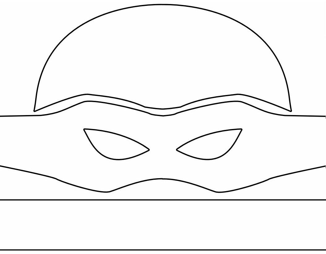 Baby Ninja Turtle Masks Printable Template - 10.15.hus-Noorderpad.de • - Teenage Mutant Ninja Turtles Free Printable Mask