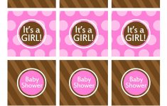 Baby Shower? Free Printables It's A Girl Cupcake Topper/tags. Pink – Free Printable Whale Cupcake Toppers