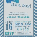 Baby Shower Invitations For Boys Free Templates | Invitation Ideas   Free Baby Boy Shower Invitations Printable