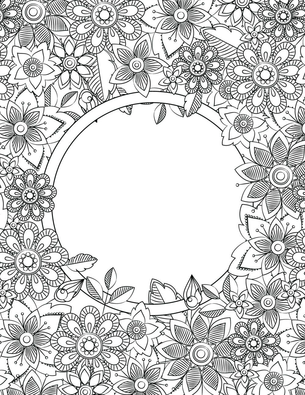 Back To School Binder Cover Adult Coloring Pages | Journals - Free Printable Binder Covers To Color