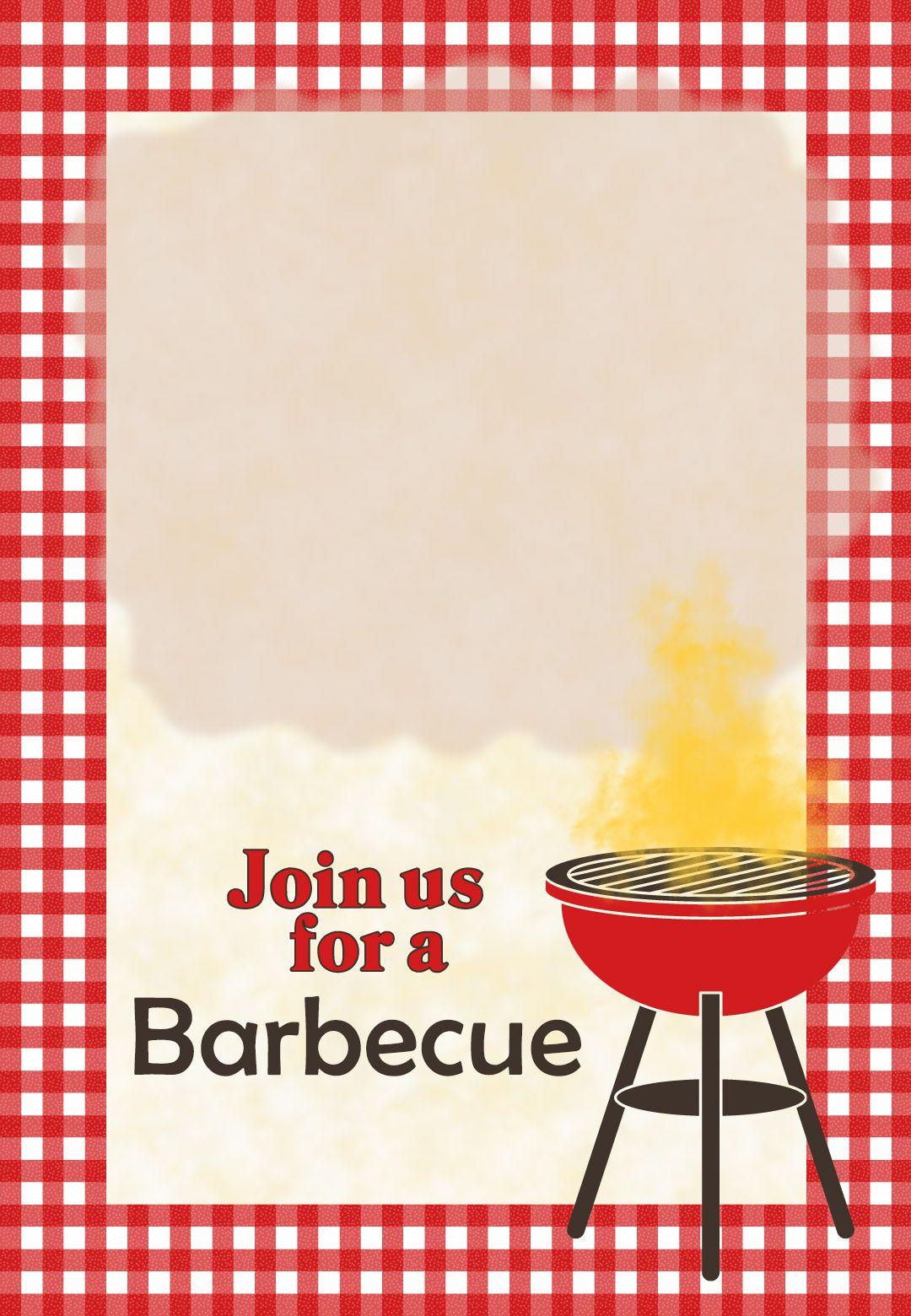 Barbecue #invitation - Free #printables #bbq | Food | Pinterest - Free Printable Cookout Invitations