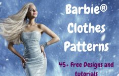 Free Printable Barbie Doll Sewing Patterns Template