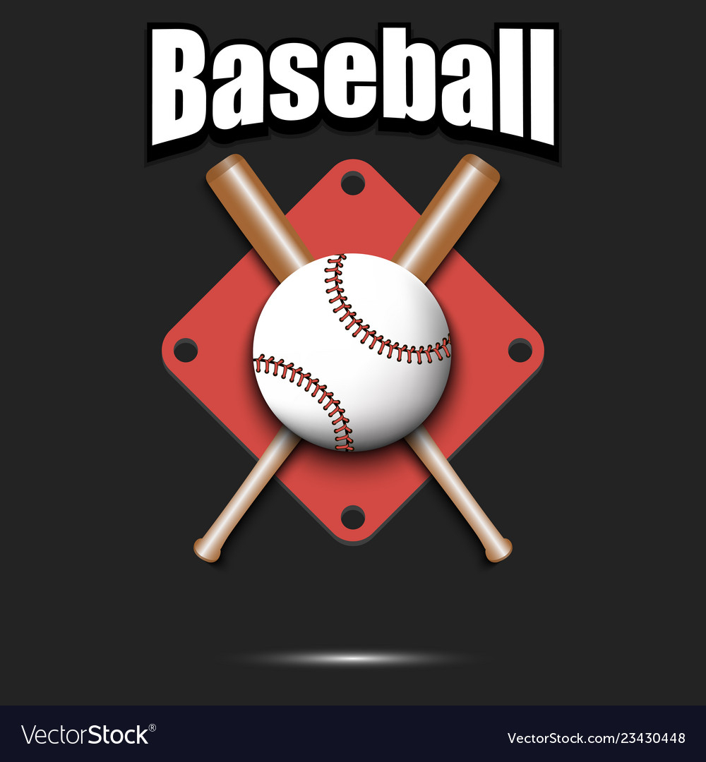 Baseball Logo Design Template Royalty Free Vector Image - Free Printable Baseball Logos