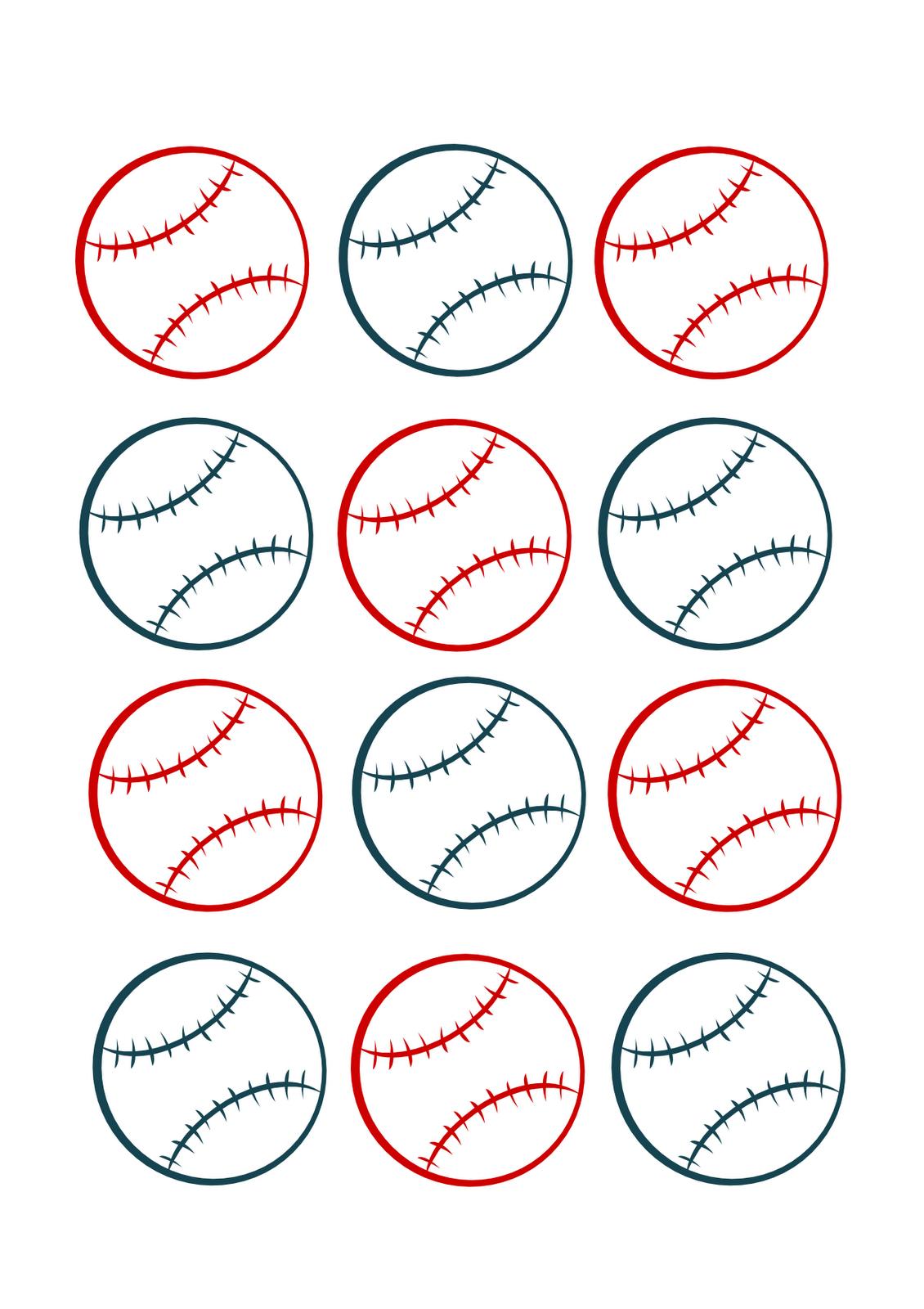 Baseball Name Tags Printable | Www.topsimages - Free Printable Baseball Favor Tags