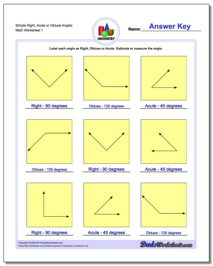 Free Printable Geometry Worksheets For 3Rd Grade