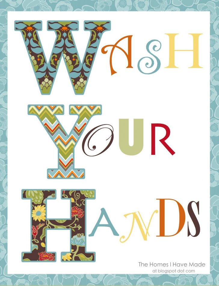Free Printable Wall Art For Bathroom