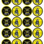 Batman Cupcake Toppers Free Printable | Free Printable   Batman Cupcake Toppers Free Printable