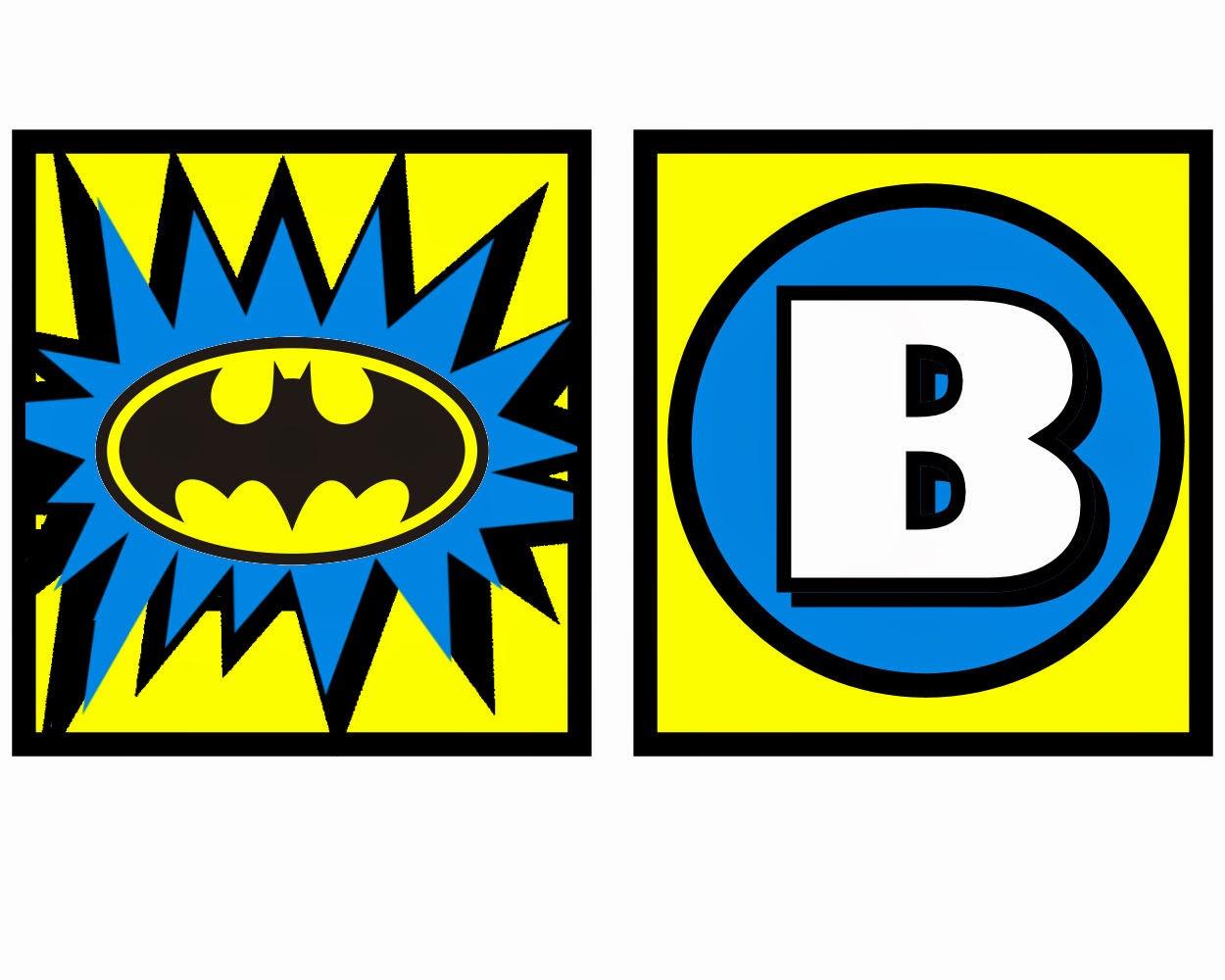 Batman: Free Printable Mini Kit.   Oh My Fiesta! In English - Free Printable Batman Pictures