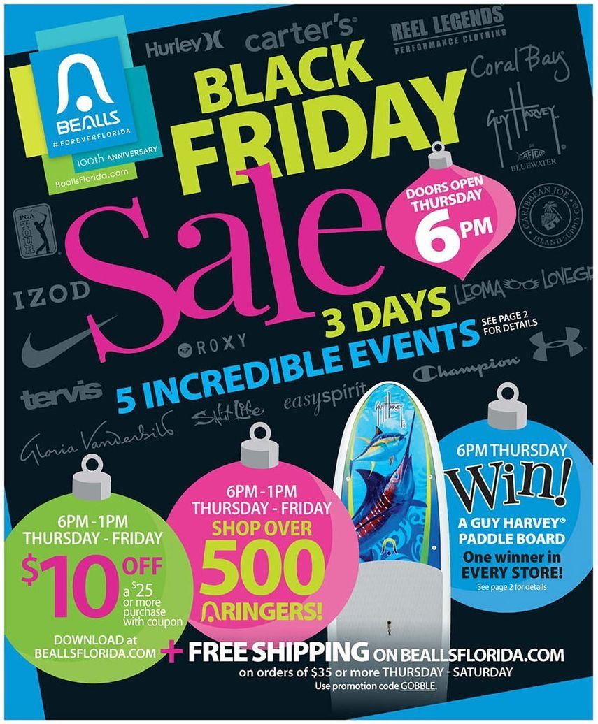 Bealls Department Stores 2018 Black Friday Ad | Online Shopping - Free Printable Bealls Florida Coupon