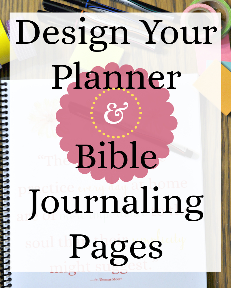 Beautiful Printable Pages: Blank Calendar, Planner, Bible Journaling - Free Printable Bible Study Journal Pages