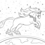 Beautiful Unicorn Coloring Page | Free Printable Coloring Pages   Free Printable Unicorn Coloring Pages