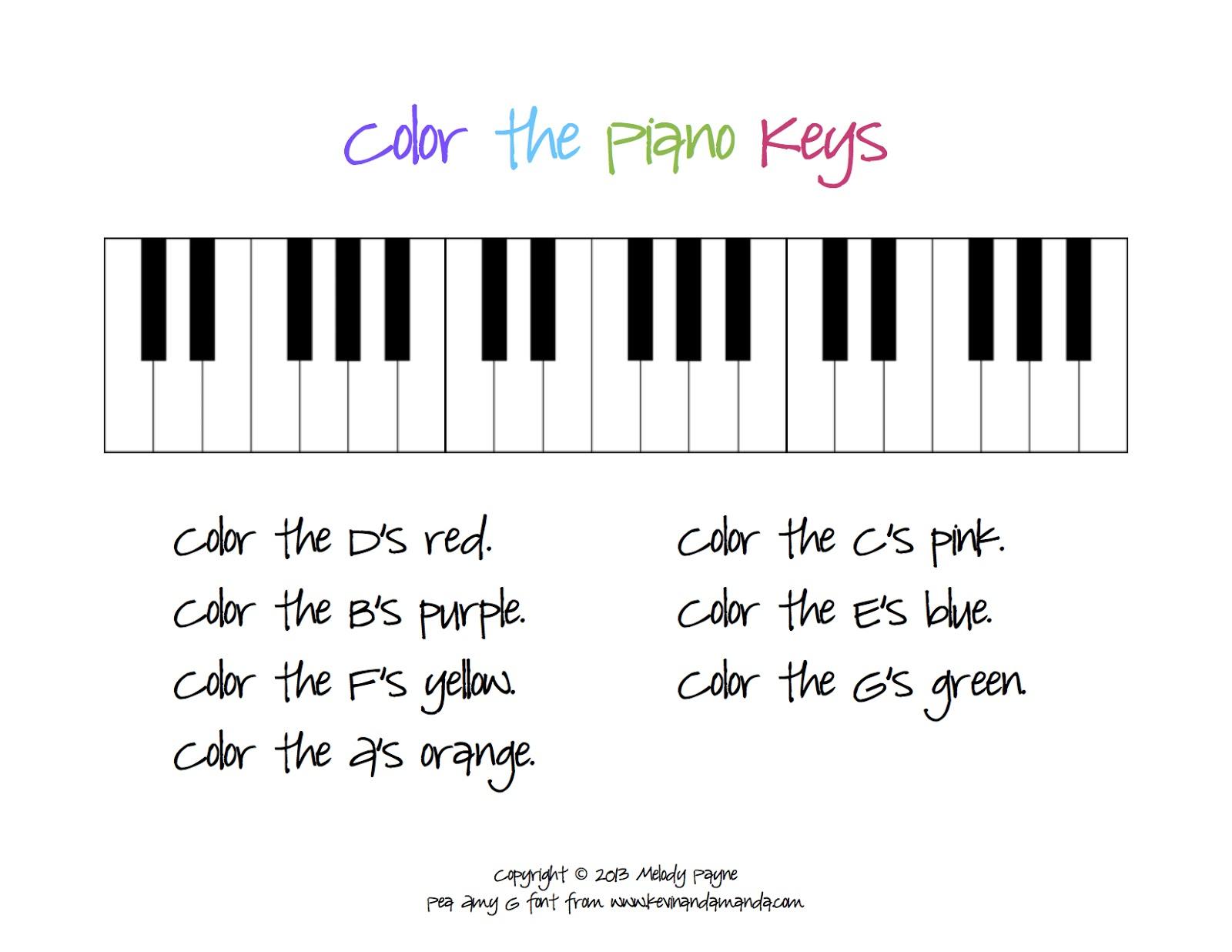 Beginner Piano Worksheets Printable Free | Free Printables Worksheet - Beginner Piano Worksheets Printable Free
