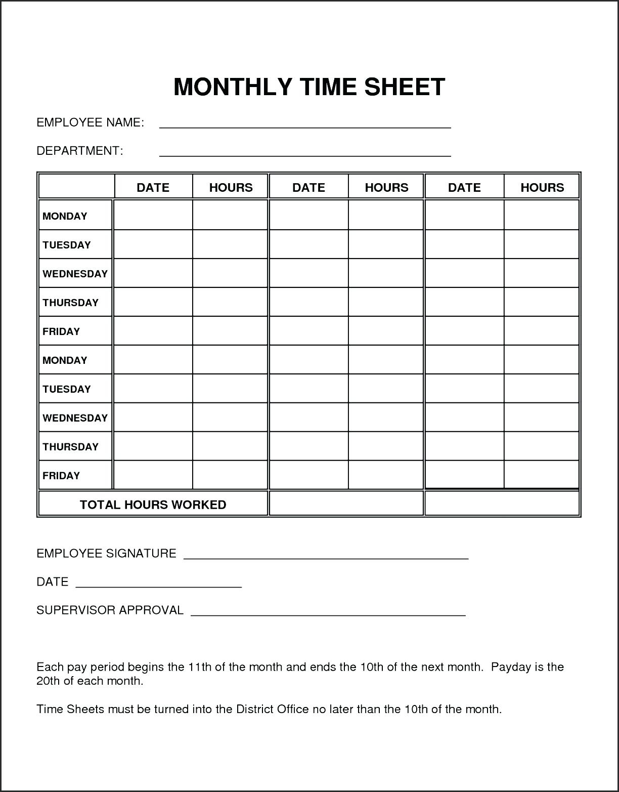 Best Ideas Of Time Card Template Paper Time Card Template Printable - Free Printable Time Cards