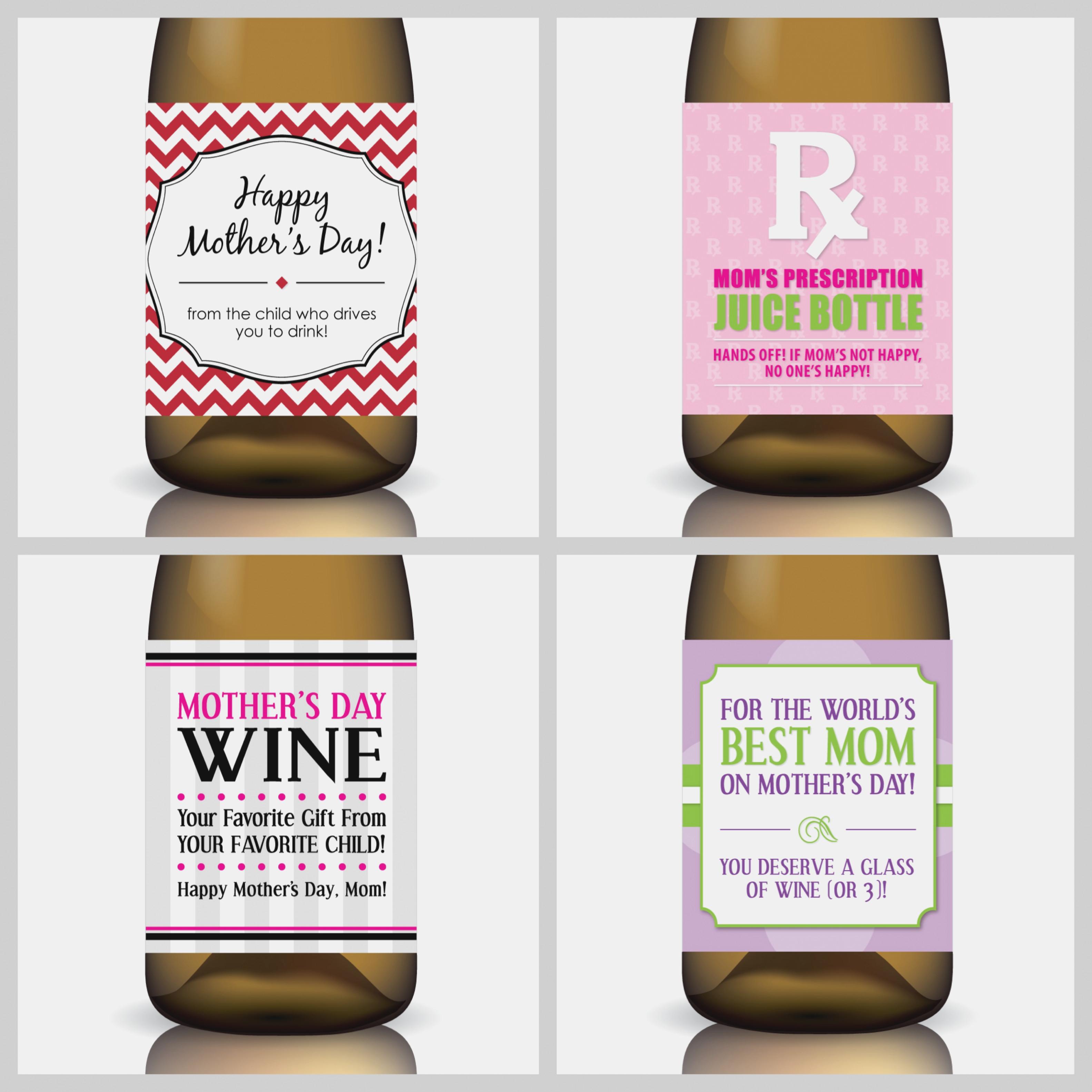 Best Photos Of Wine Label Free Printable Mini Templates – Free .. - Free Printable Wine Labels
