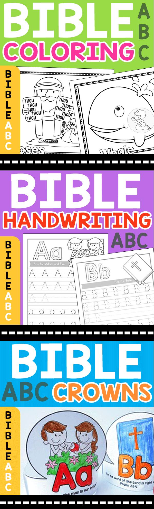Bible Bingo - Christian Preschool Printables - Free Printable Bible Bingo For Preschoolers