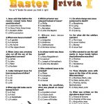 Bible Printable Quiz Images – Google Search | Easter | Pinterest – Free Printable Bible Games For Youth