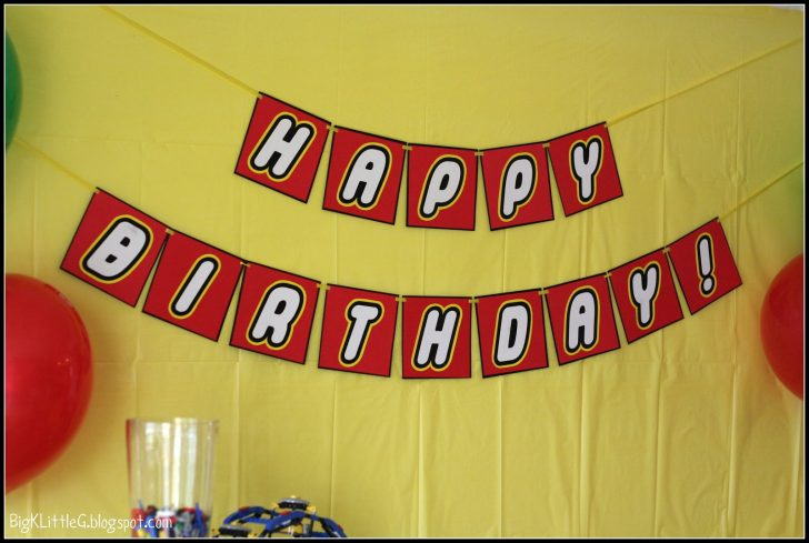 Diy Birthday Banner Free Printable