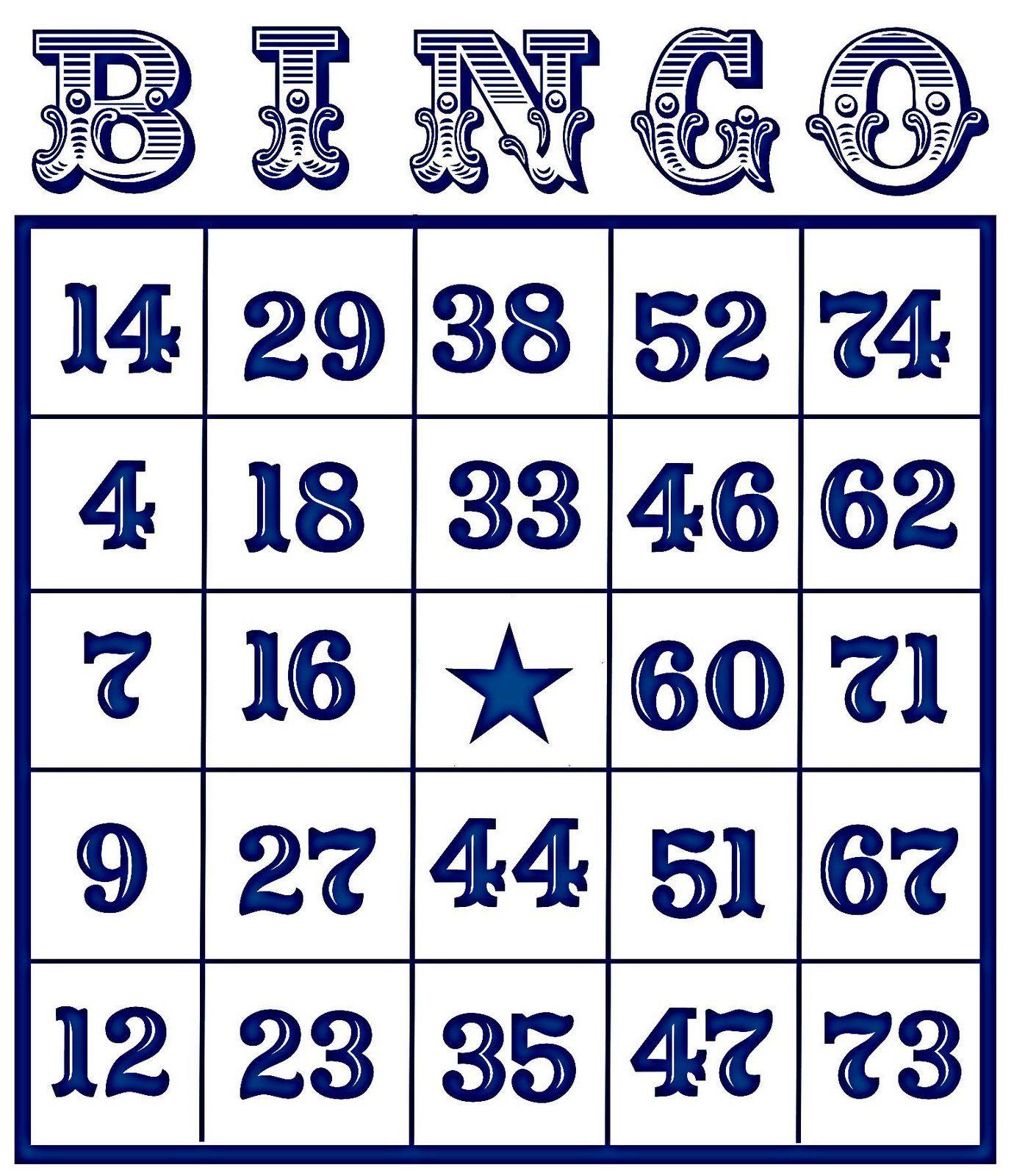 Bingo Card Vintage | Soldered Pendant Ideas | Free Bingo Cards, Free - Free Printable Bingo Cards