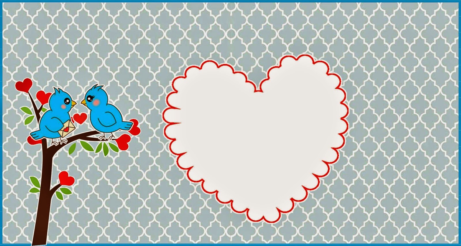 Birds Engagement Free Printable Kit. | Oh My Fiesta! In English - Free Printable Engagement Invitations