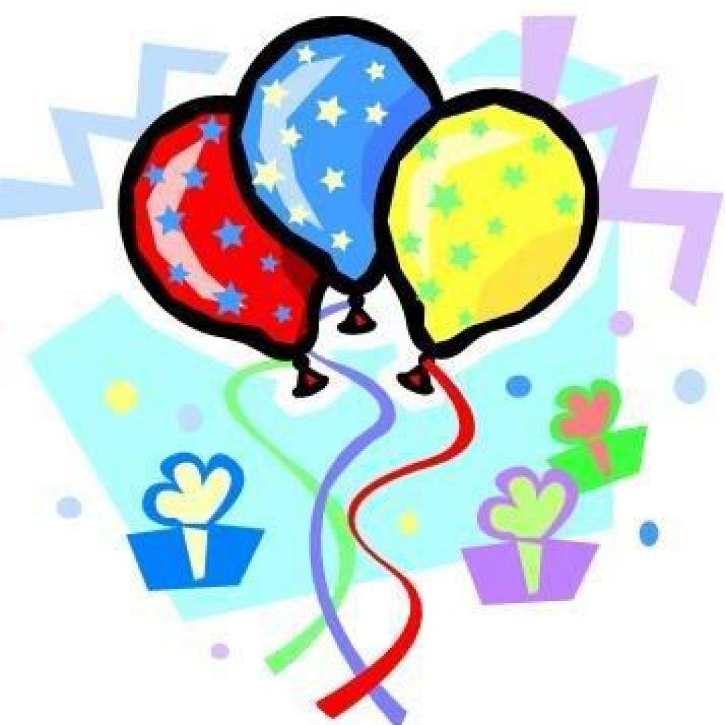 Birthday Clipart Free Printable | Free Clipart Download - Birthday Clipart Free Printable