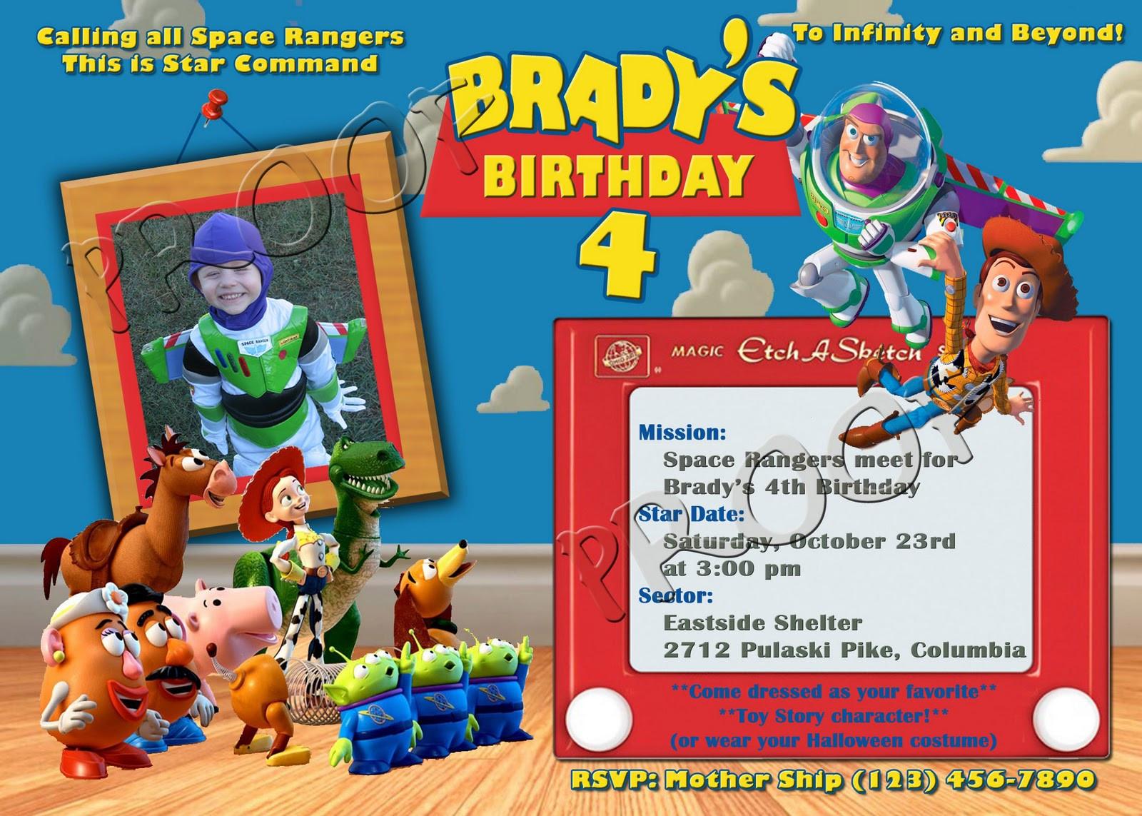 Birthday Free Printable Toy Story Birthday Invitations Bagvania - Free Printable Toy Story 3 Birthday Invitations
