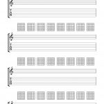 Blank Chord Sheets   Google Search | Guitar In 2019 | Pinterest   Free Printable Guitar Tablature Paper