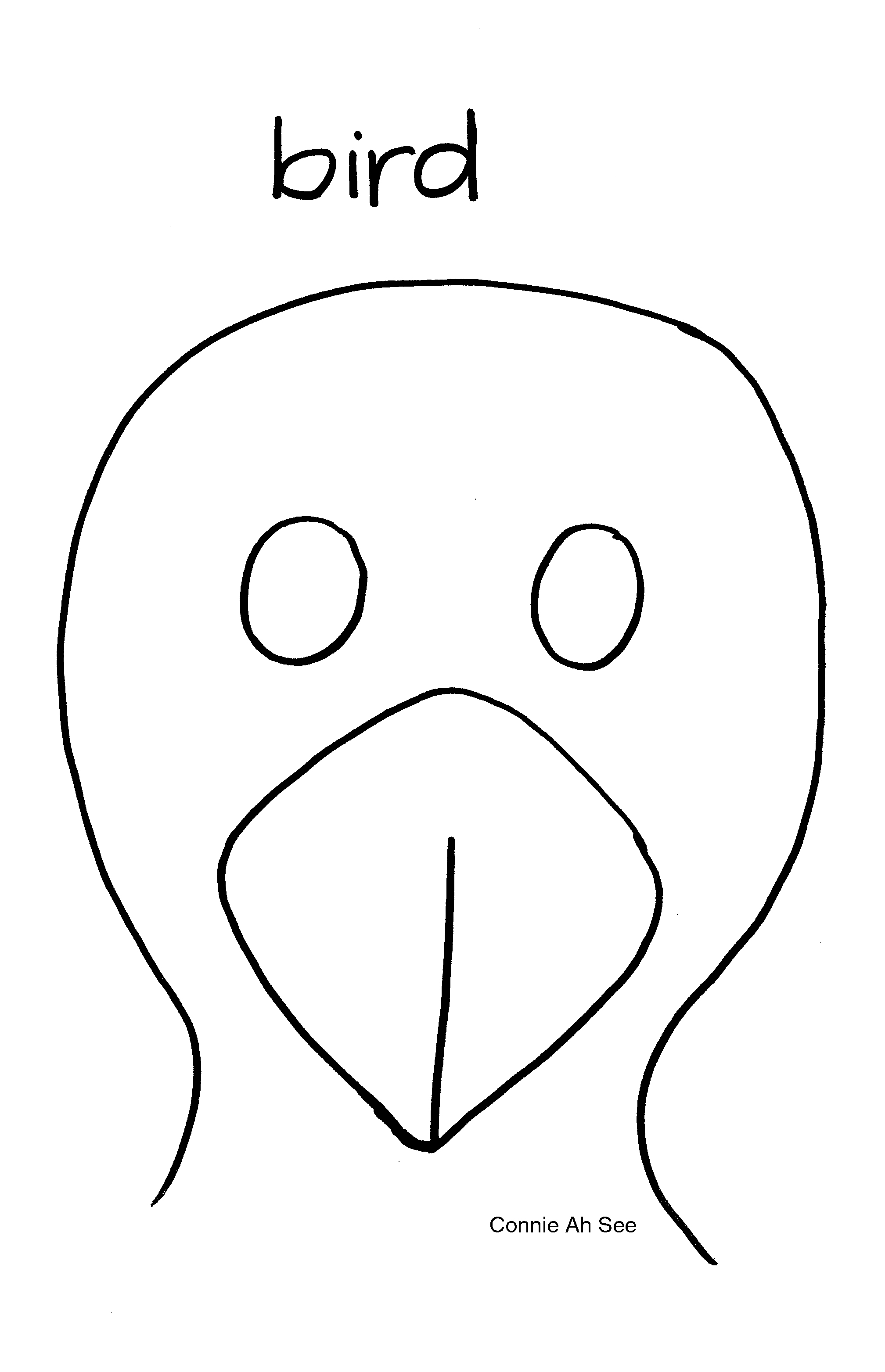 Blank Face Coloring Page Getcoloringpages Mask Templates - Animal Face Masks Printable Free