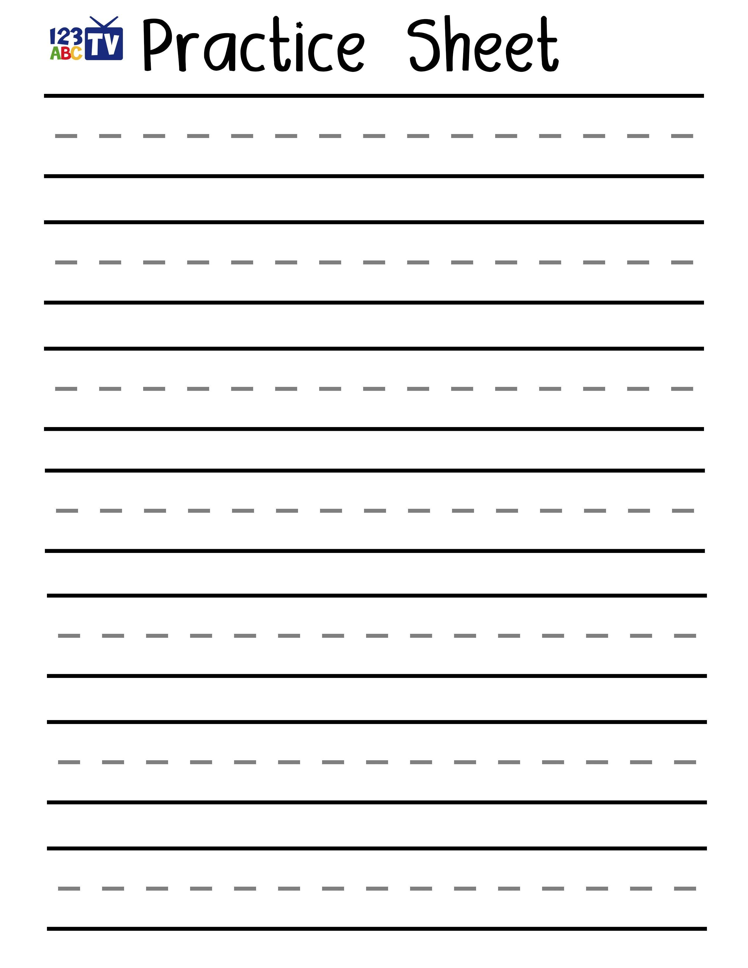 Blank Handwriting Worksheets Pdf Awesome Print Handwriting - Blank Handwriting Worksheets Printable Free