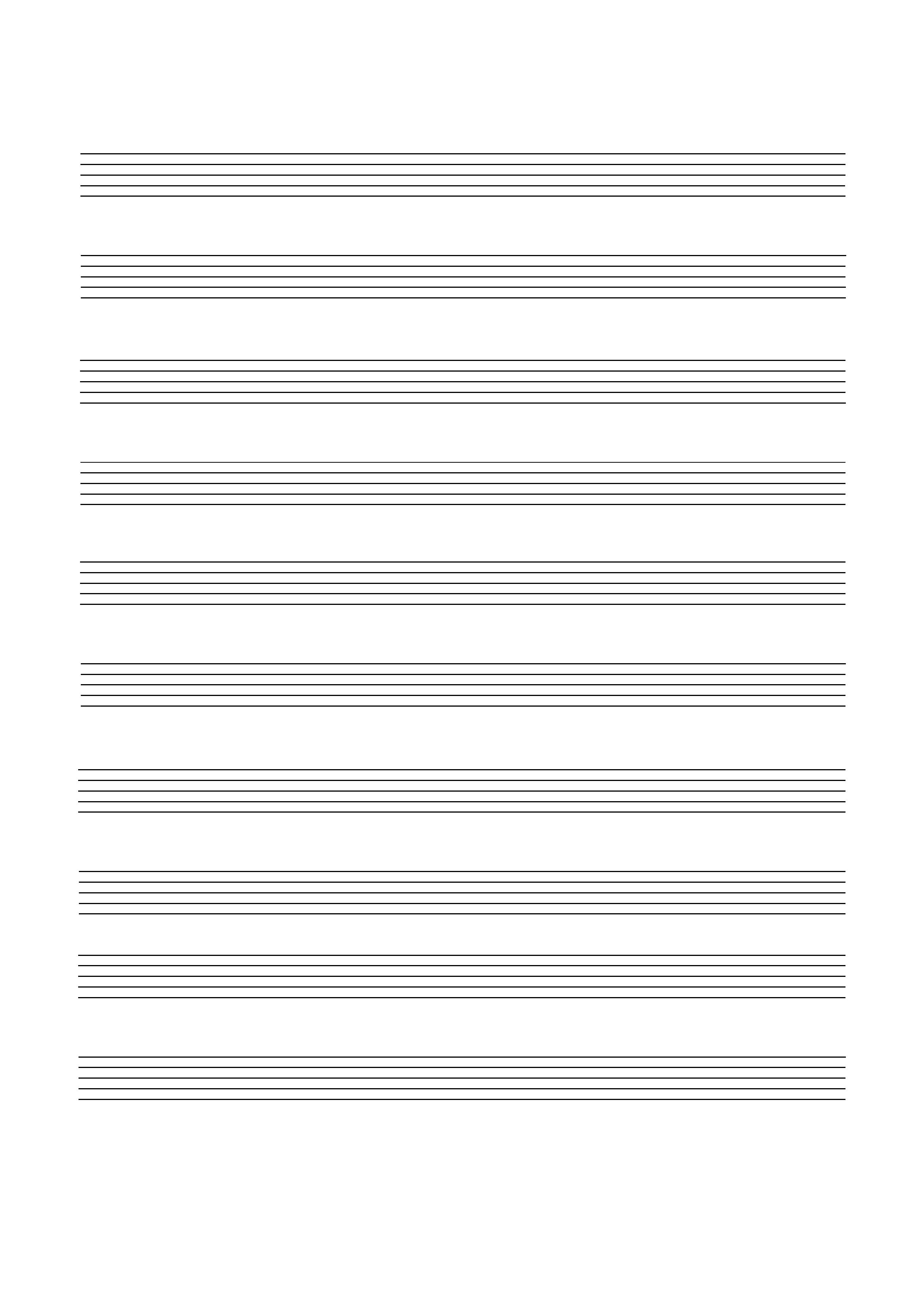 Blank Music Staff Paper Pdf - Free Printable Blank Music Staff Paper
