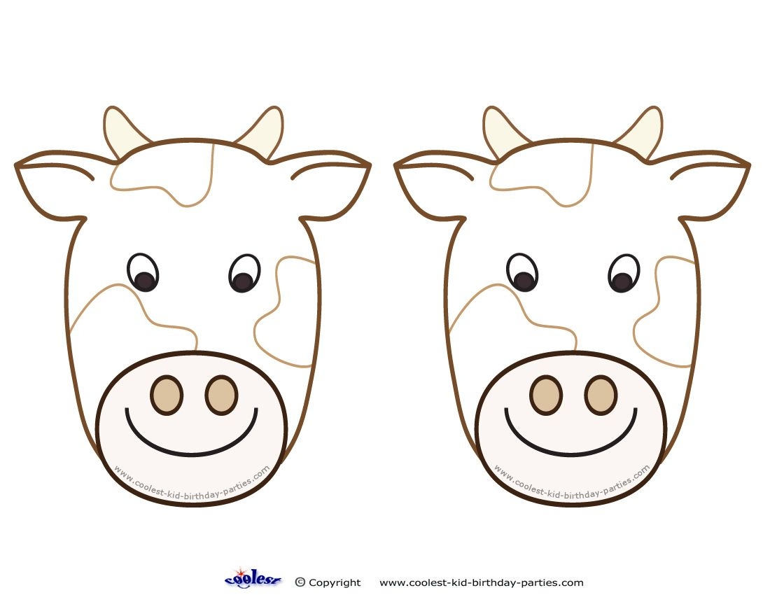 Blank Printable Cow Invitations - Coolest Free Printables | Cow - Free Printable Cow Birthday Invitations