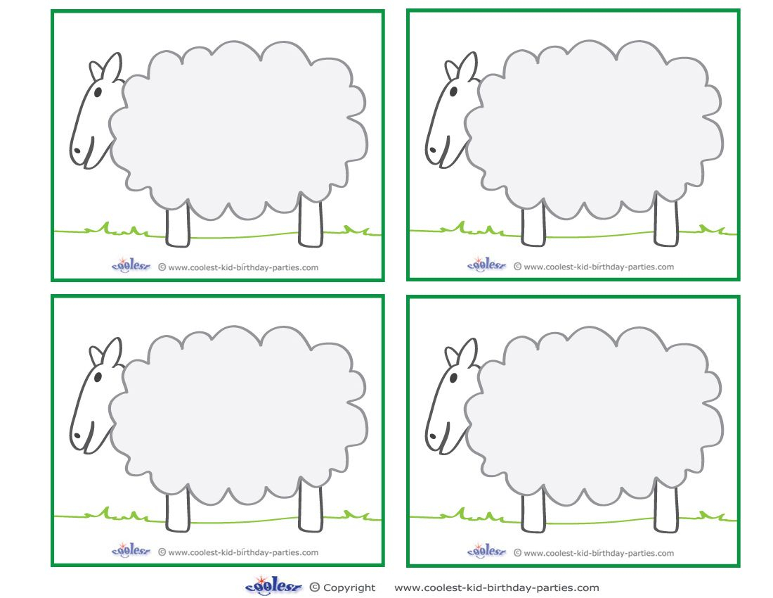 Blank Printable Sheep Thank You Cards Coolest Free Printables - Pastor Appreciation Cards Free Printable