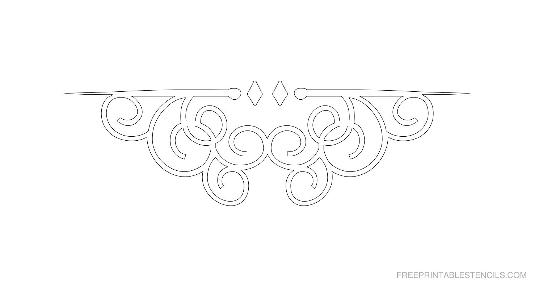Border Stencils To Print | Free Printable Stencils - Free Printable Stencils