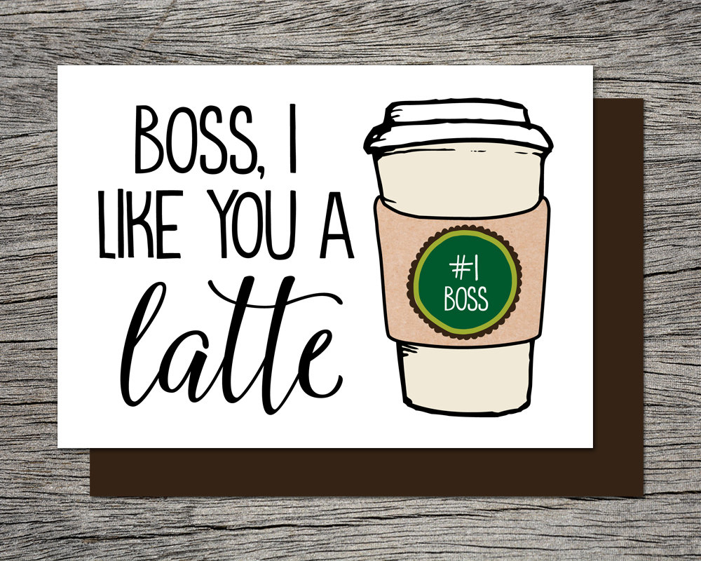 Boss's Day Card Bosses Day Card Printable Card Boss   Etsy - Boss Day Cards Free Printable