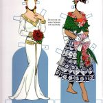 Brides From Around The World Paper Dollstom Tierney, Dover   Free Printable Paper Dolls From Around The World